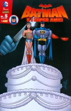 Copertina BATMAN E I SUPERAMICI n.5 - BATMAN E I SUPERAMICI, RW LION