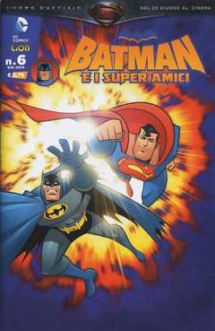 Copertina BATMAN E I SUPERAMICI n.6 - BATMAN E I SUPERAMICI, RW LION
