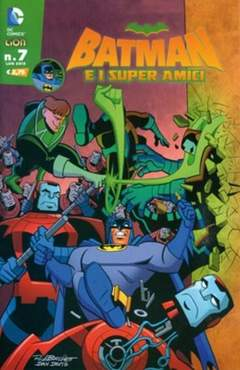 Copertina BATMAN E I SUPERAMICI n.7 - BATMAN E I SUPERAMICI, RW LION