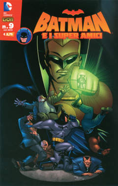Copertina BATMAN E I SUPERAMICI n.9 - BATMAN E I SUPERAMICI, RW LION