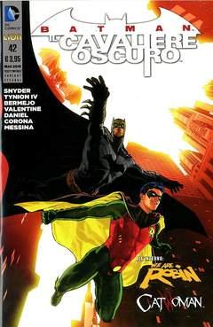 Copertina BATMAN IL CAV.OSCURO #42 Var. n. - Variant BATMAN E ROBIN ETERNAL, RW LION