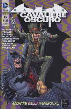 Copertina BATMAN IL CAV.OSCURO n. serie n.6 - BATMAN IL CAVALIERE OSCURO, RW LION
