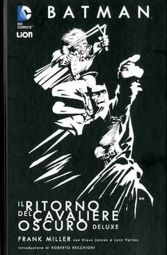 Copertina BATMAN IL RITORNO DEL...Rist. n. - IL RITORNO DEL CAVALIERE OSCURO - Deluxe Ristampa, RW LION