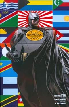Copertina BATMAN INC. n.1 - BATMAN INC., RW LION