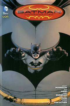 Copertina BATMAN INC. n.6 - BATMAN INCORPORATED, RW LION