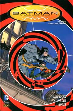 Copertina BATMAN INC. volume Brossurato n.1 - STELLA DEL DEMONE, RW LION
