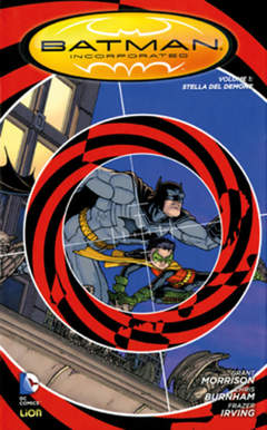 Copertina BATMAN INC. volume n.1 - STELLA DEL DEMONE, RW LION