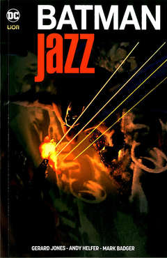 Copertina BATMAN JAZZ n. - JAZZ, RW LION