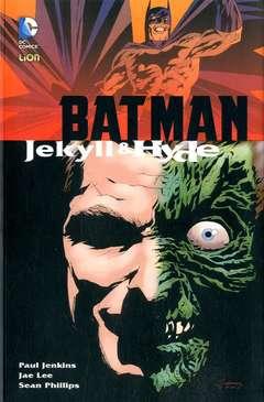 Copertina BATMAN JEKYLL E HYDE Riediz. n. - JEKYLL E HYDE, RW LION