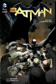 Copertina BATMAN New 52 Library n.1 - LA CORTE DEI GUFI, RW LION