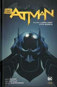 Copertina BATMAN New 52 limited n.4 - ANNO ZERO: CITTA' SEGRETA, RW LION