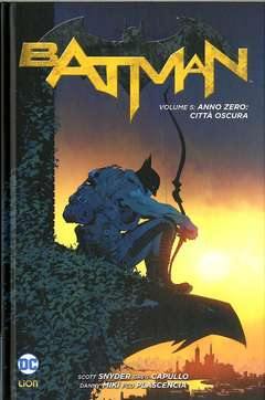 Copertina BATMAN New 52 limited n.5 - ANNO ZERO: CITTA' OSCURA, RW LION