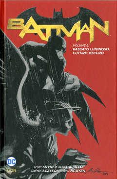 Copertina BATMAN New 52 limited n.6 - PASSATO LUMINOSO, FUTURO OSCURO, RW LION
