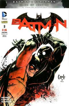Copertina BATMAN NEW 52 SPECIAL n.3 - BATMAN, RW LION