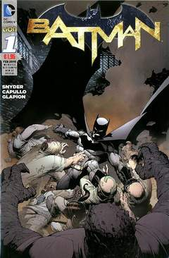 Copertina BATMAN NEW 52 SPECIAL Ristampa n.1 - BATMAN, RW LION
