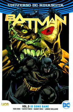Copertina BATMAN Rebirth Collection n.3 - BATMAN, RW LION