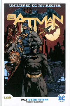 Copertina BATMAN Rebirth Ultralimited n.1 - IO SONO GOTHAM, RW LION