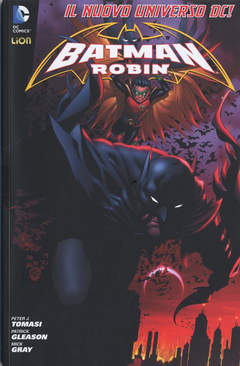 Copertina BATMAN & ROBIN 2012 n.1 - BATMAN WORLD 1, RW LION