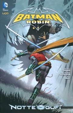 Copertina BATMAN & ROBIN 2012 n.3 - BATMAN & ROBIN, RW LION