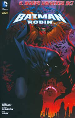 Copertina BATMAN & ROBIN 2012 I ristampa n.1 - BATMAN & ROBIN, RW LION