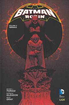 Copertina BATMAN E ROBIN Volume n.2 - TERMINUS, RW LION