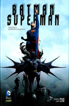 Copertina BATMAN/SUPERMAN Volume n.1 - INCROCIO DI MONDI, RW LION