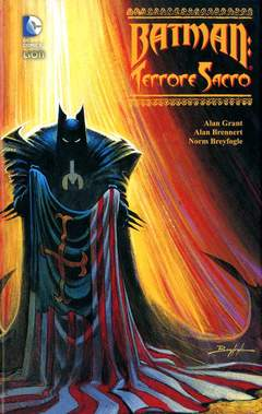 Copertina BATMAN TERRORE SACRO n. - TERRORE SACRO, RW LION