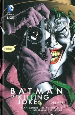 Copertina BATMAN THE KILLING JOKE Ried. n. - BATMAN: THE KILLING JOKE, RW LION