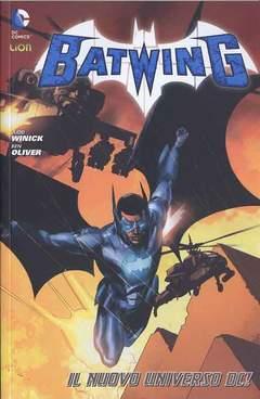 Copertina BATWING n.1 - BATMAN WORLD 3, RW LION