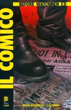 Copertina BEFORE WATCHMEN IL COMICO n.3 - IL COMICO, RW LION