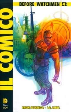 Copertina BEFORE WATCHMEN IL COMICO n.4 - IL COMICO, RW LION