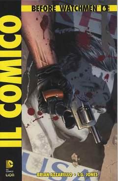 Copertina BEFORE WATCHMEN IL COMICO n.6 - IL COMICO, RW LION