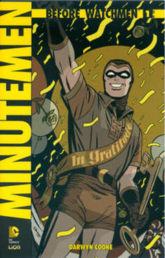 Copertina BEFORE WATCHMEN MINUTEMEN n.1 - BEFORE WATCHMEN: MINUTEMEN, RW LION