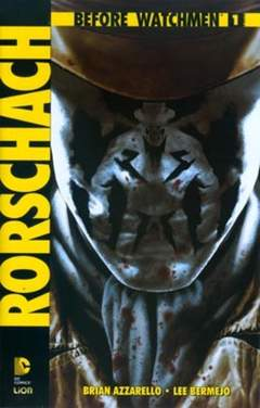 Copertina BEFORE WATCHMEN RORSCHACH n.1 - RORSCHACH, RW LION