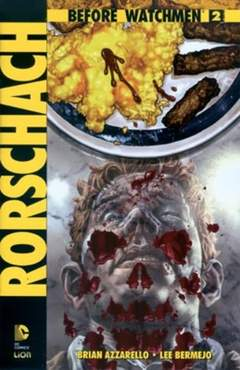 Copertina BEFORE WATCHMEN RORSCHACH n.2 - RORSCHACH, RW LION