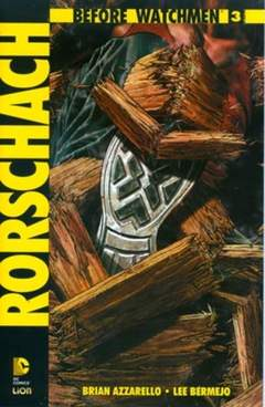 Copertina BEFORE WATCHMEN RORSCHACH n.3 - RORSCHACH, RW LION