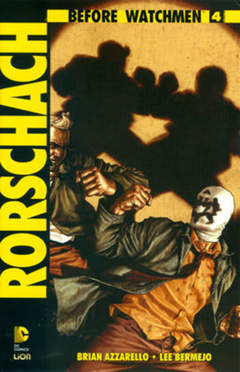 Copertina BEFORE WATCHMEN RORSCHACH n.4 - RORSCHACH, RW LION