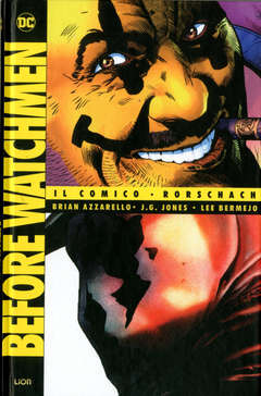 Copertina BEFORE WATCHMEN Volume n.3 - IL COMICO/RORSCHACH, RW LION
