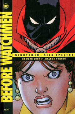 Copertina BEFORE WATCHMEN Volume n.2 - MINUTEMEN/SILK SPECTRE, RW LION