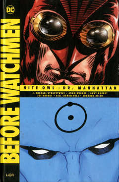 Copertina BEFORE WATCHMEN Volume n.1 - NITE OWL/DOTTOR MANHATTAN, RW LION