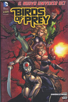Copertina BIRDS OF PREY #1 Variant cover n. - BIRD OF PRAY, RW LION