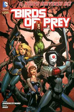 Copertina BIRDS OF PREY n.1 - BATMAN UNIVERSE 1, RW LION