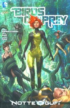 Copertina BIRDS OF PREY n.3 - BIRDS OF PREY, RW LION