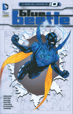 Copertina BLUE BEETLE n.3 - MONDO REACH, RW LION