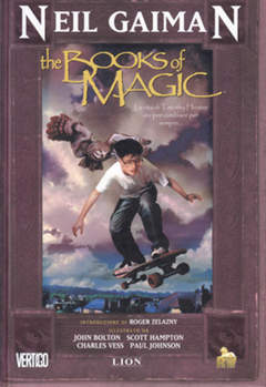 Copertina BOOKS OF MAGIC n.1 - BOOKS OF MAGIC, RW LION
