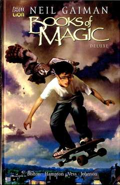 Copertina BOOKS OF MAGIC Deluxe n. - THE BOOKS OF MAGIC, RW LION