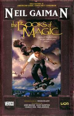Copertina BOOKS OF MAGIC Ristampa n. - THE BOOKS OF MAGIC - Ristampa, RW LION