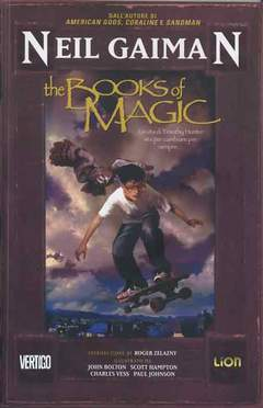 Copertina BOOKS OF MAGIC n.1 - THE BOOKS OF MAGIC, RW LION