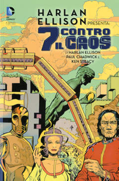 Copertina 7 CONTRO IL CAOS n. - HARLAN ELLISON PRESENTA, RW LION