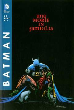 Copertina DC BEST n.1 - BATMAN: UNA MORTE IN FAMIGLIA, RW LION